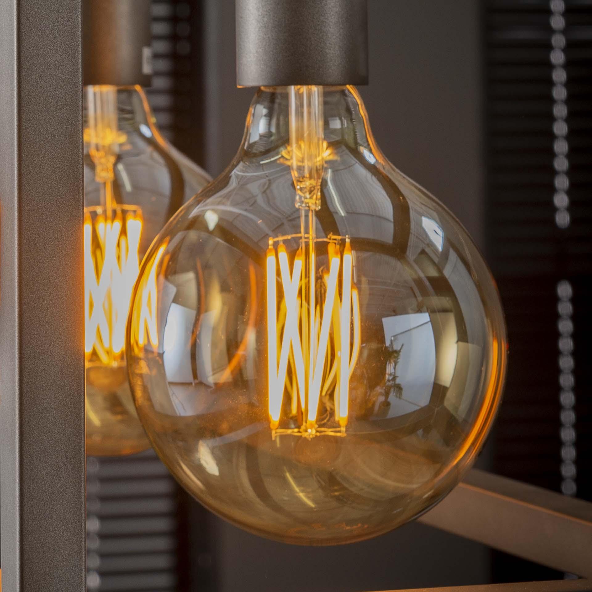 Lichtbron LED filament bol �12,5 dimbaar
