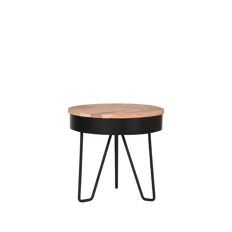 Budget Design Store LABEL51 Saran Bijzettafel voor binnen Multi Metaal Rond 44 cm online kopen