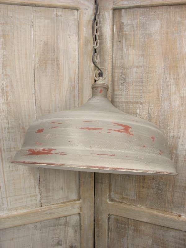 Hanglamp grijs 45 cm
