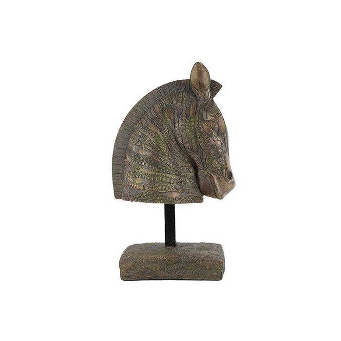 Ornament Paard decoratie op sokkel 48 cm