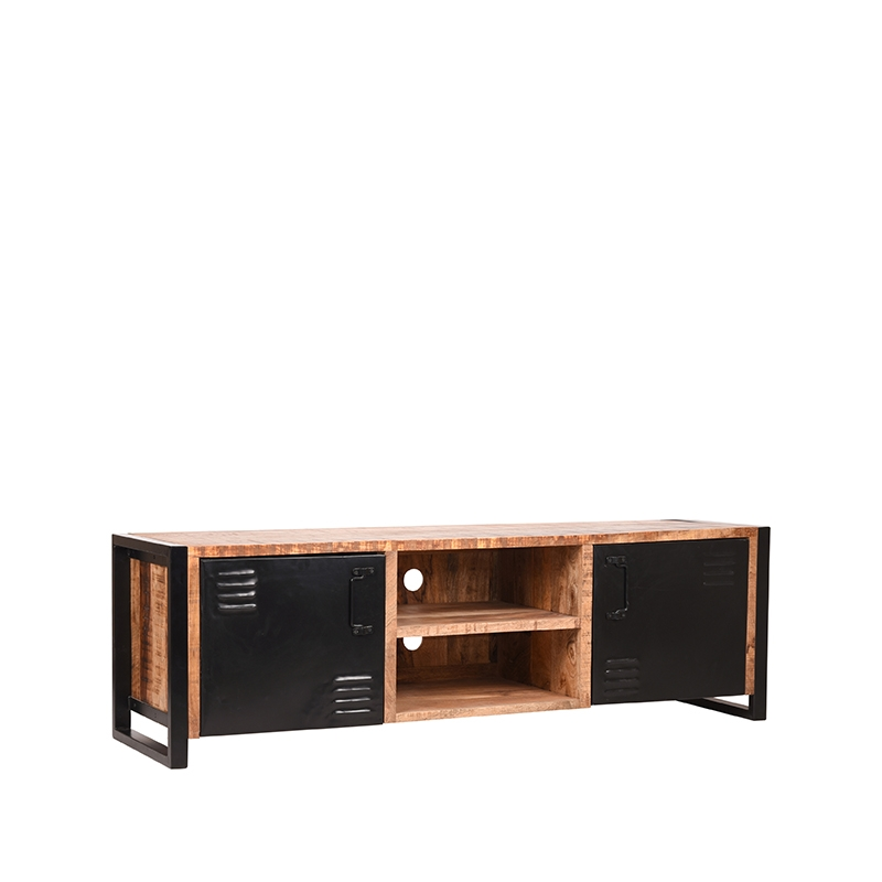 LABEL51 Tv-meubel Brussels - Naturel - Mangohout - 160 cm
