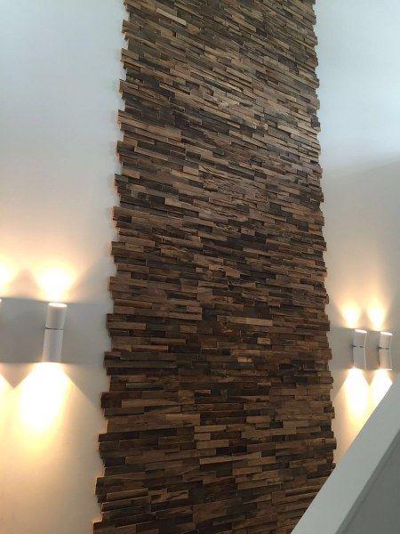 Wandpaneel Bali mixed hardwood 4 cm