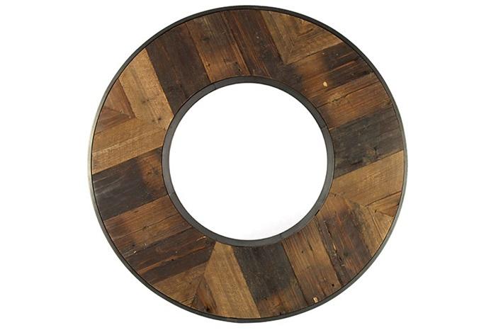 Wandspiegel hout 100 cm
